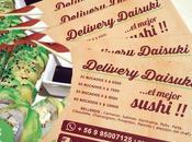 "Tarjetas Presentación ""Sushi Delivery Daisuki"""
