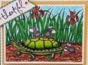 Tarjeta sello Stampendous: Thankful