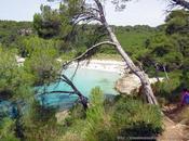 Menorca running (III): Camí Cavalls Senda litoral desde Cala Galdana Escorxada vuelta