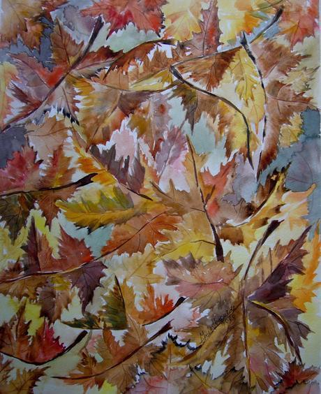 Resultado de imagen de alfombras en otoño