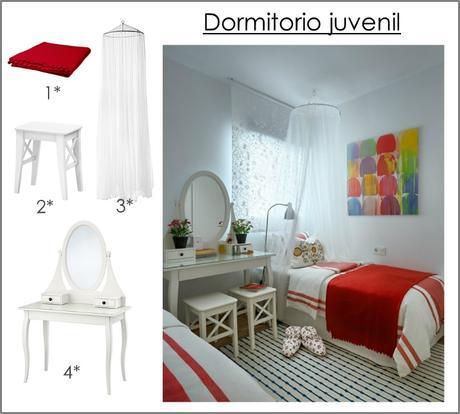 Vivienda decorada integramente con muebles de ikea paperblog for Casas decoradas con muebles de ikea