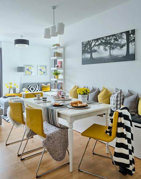 Vivienda decorada integramente con muebles de ikea paperblog - Casas decoradas con muebles de ikea ...