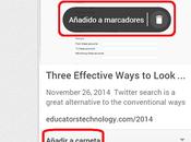 Bookmark Manager, Google actualiza servicio marcadores