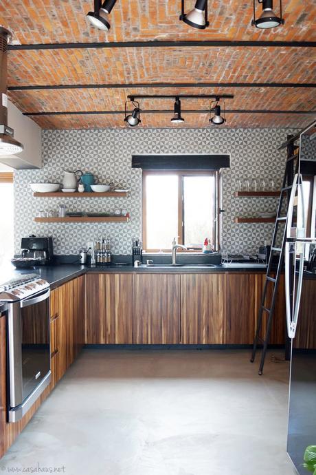 Renovación de cocina estilo rústico industrial - Paperblog