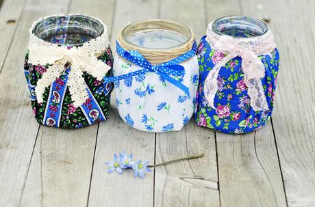 ideas increbles para reciclar y decorar tus frascos