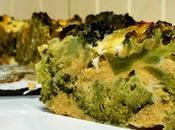 Pastel brócoli
