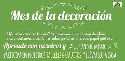 Talleres gratuitos en el mes de la decoraci n de leroy - Leroy merlin las rozas ...