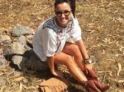 Falda vaquera botas camperas