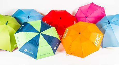 Paraguas como regalo de empresa