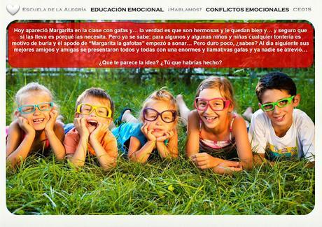 Educación Emocional Infantil. Colección Conflictos Emocionales 15.
