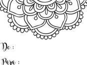 Tarjetas regalo diseño Mandala