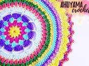 Mandala tamaño grande crochet vídeo tutorial