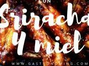 Alitas pollo Sriracha miel