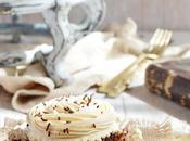 Black velvet cupcakes crema dulce leche