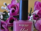 """nuevos esmaltes """"Mat Leather Effect"""" DEBORAH MILANO"""
