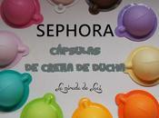 SEPHORA, cápsulas crema ducha