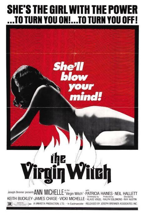 Virgin Witch (1972), brujas, aquelarres y tetas