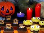 Halloween, tumbas monstruos cremosos