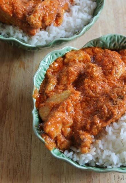 Butter chicken hindú