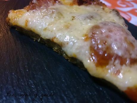 Pizza de tritordeum