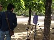 Clases pintura aire libre Parque Retiro (marzo-junio 2016)