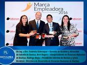 cuarto consecutivo premiación Marca Empleador. BACKUS ENTRE EMPRESAS ATRACTIVAS PARA TRABAJAR PERÚ