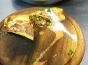 Tortitas mexicanas carne cerdo, judías