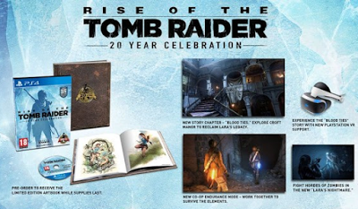 Rise of the Tomb Raider ya a la venta para PlayStation 4
