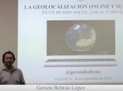 geolocalización online usos mundo social, local móvil