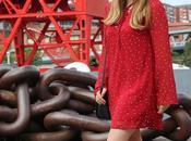 Vestido rojo... lunares!