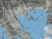 monjes, mujeres Putin: Monte Athos