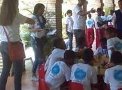 Samsung celebra voluntariado realiza tour educacional niños