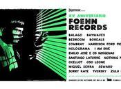 [Noticia] Fiesta Aniversario sello Foehn Records