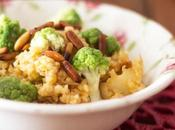 Falso risotto bulgur coliflor