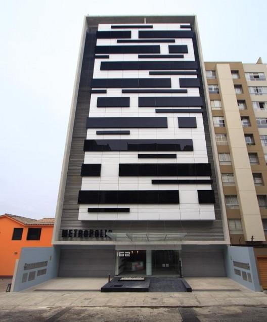 Edificio metr polis jos orrego paperblog for Fachadas contemporaneas de edificios