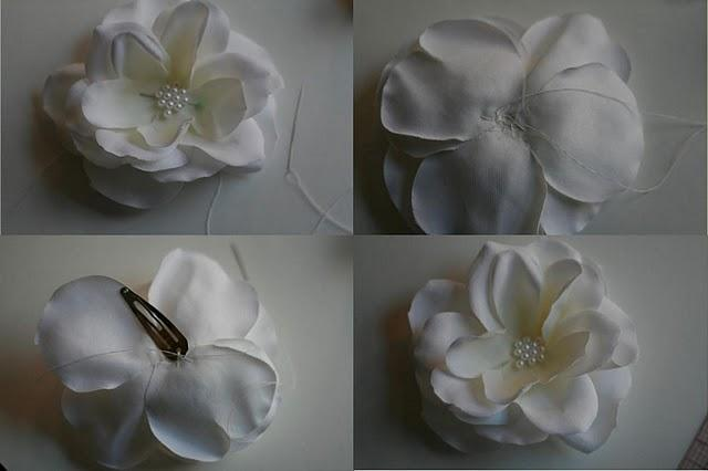 Cómo hacer una flor de tela - Paperblog