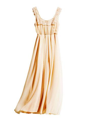 H&M Conscious Collection Recycled Fabric Dress