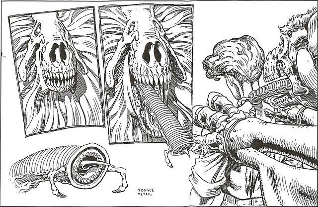 Diseño de personajes de Art Adams para Bloodlines