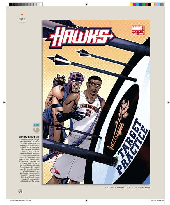 La NBA de Marvel