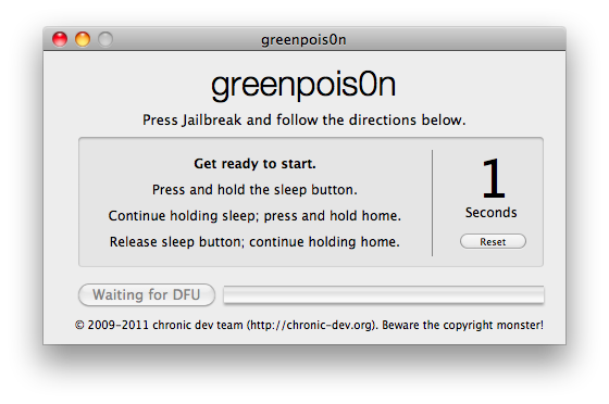Liberado el Jailbreak para versiones 4.2.1 de iOs del Dev-Team