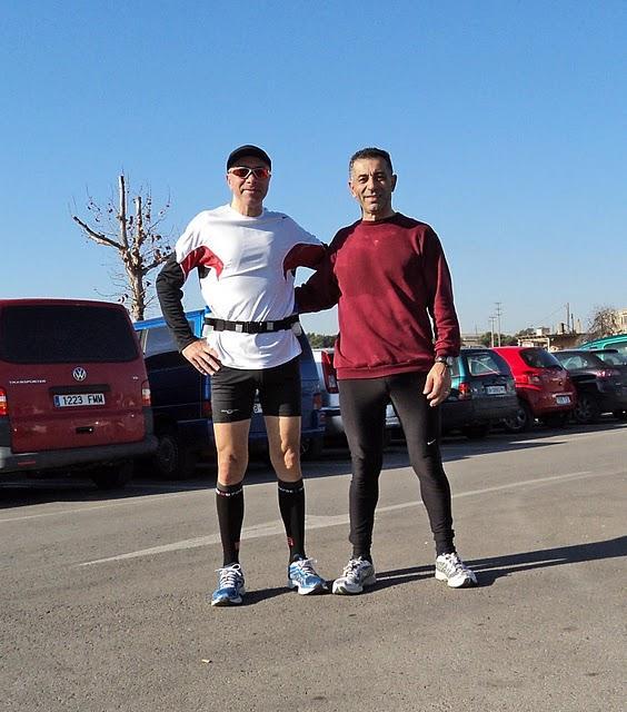 Un entreno más: 28,540 km....  Un poco más rápido, quizás un poco mejor...?