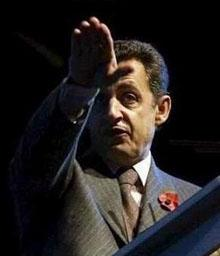 Fraternité a la Sarkozy: Nicolás Sarkozy se vuelve Nazi