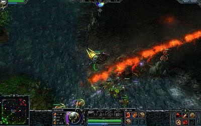 Heroes of Newerth es un juego de estrategia por equipos y acción RPG basado en Defense of the Ancients.