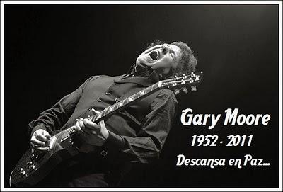 Fallece Gary Moore...