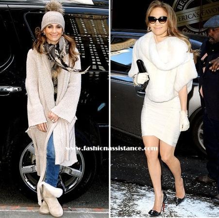 Jennifer López, del estilo casual al lady look más sofisticado, en Nueva York