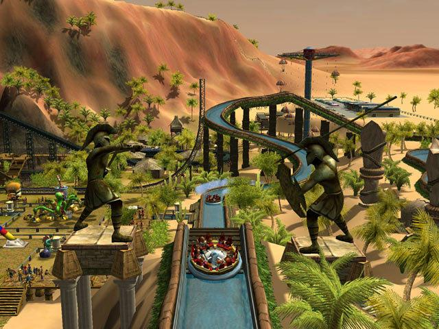 Roller Coaster Tycoon - Atención: Solo para empresarios frustrados.