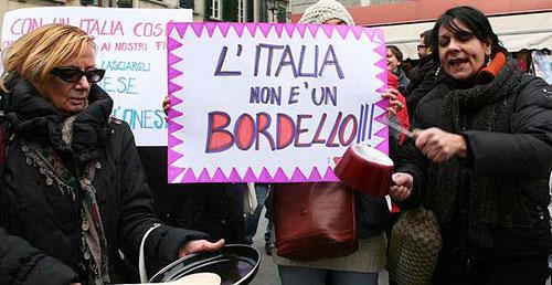 Las italianas dicen 'Basta'