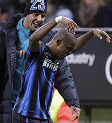 El inter de Milán gana a la Roma( 5-3) con dos goles de Eto´o