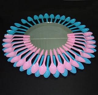 Tutorial hacer un espejo con cucharas paperblog for Decoracion de espejo con cucharas