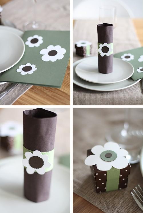 DIY: Flores retro en la mesa